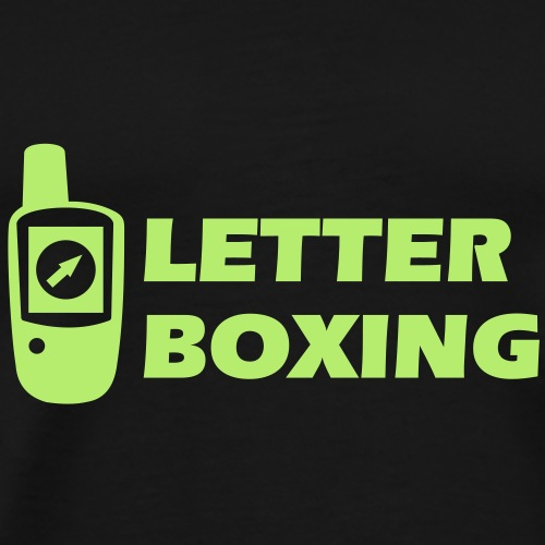 Geocaching GPS LetterBoxing - Männer Premium T-Shirt