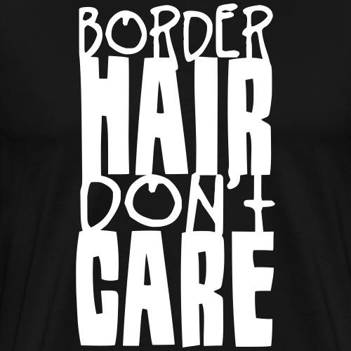 borderhaircare2 - Men's Premium T-Shirt