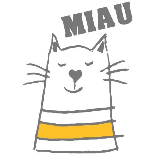 Miau - Männer Premium T-Shirt