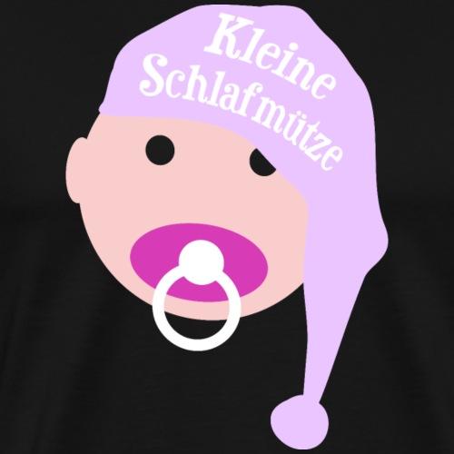 Kleine Schlafmütze Baby Mädchen Geburt Geschenk - Männer Premium T-Shirt