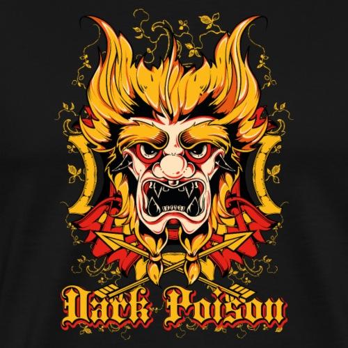 Mask Japonais Poison Sombre - T-shirt Premium Homme