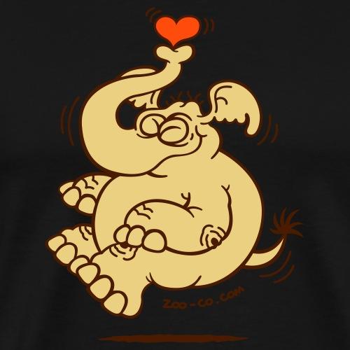 Fly me to the Moon Elephant - Men's Premium T-Shirt