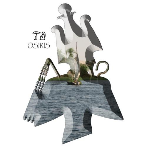 Altägyptischer Gott OSIRIS - Männer Premium T-Shirt