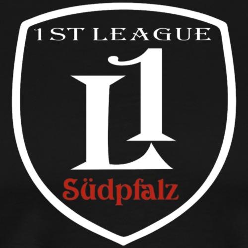 Logo Umrisse weiß - Männer Premium T-Shirt