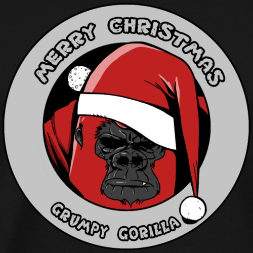 Christmas Gorilla - T-shirt Premium Homme