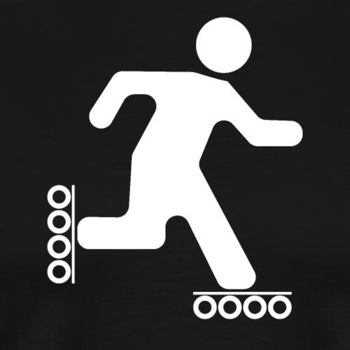 Strichmann Speedskater - Männer Premium T-Shirt