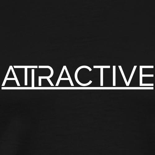 Attractive - Minimal Attractive - Männer Premium T-Shirt