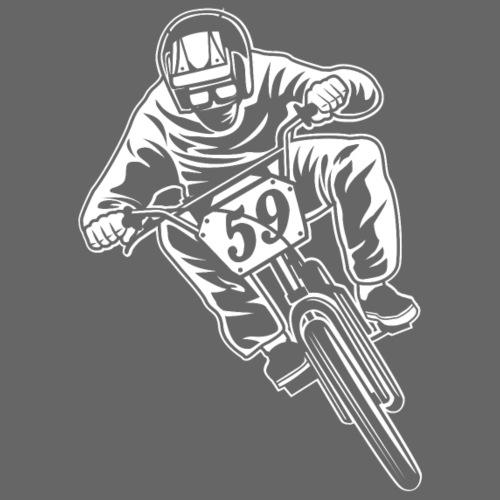 BMX Fahrrad / Bike 02_weiß - Männer Premium T-Shirt