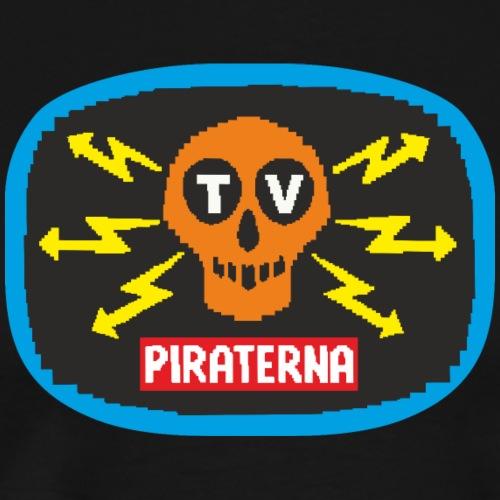 TV-piraterna - Premium-T-shirt herr