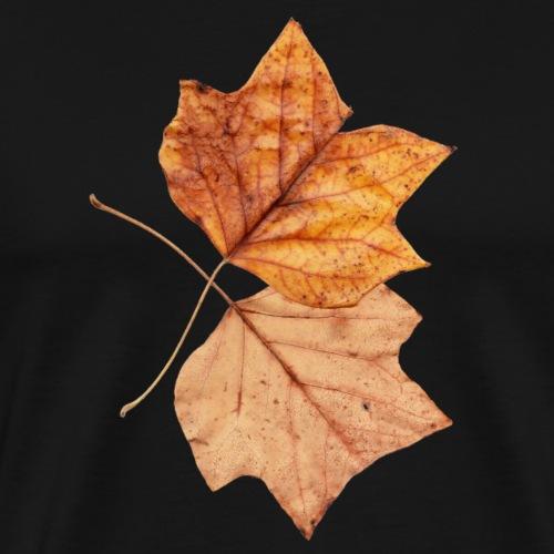 Blätter - Männer Premium T-Shirt