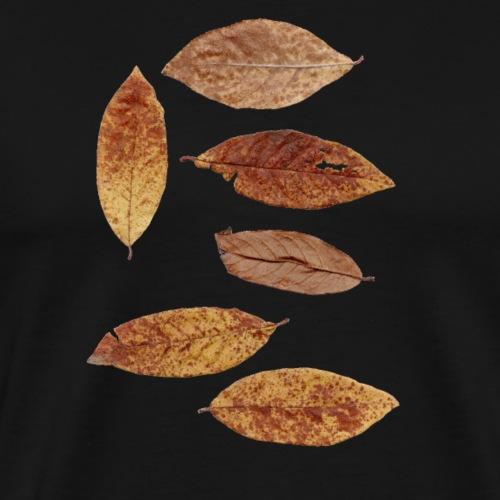 Bunte Blätter - Männer Premium T-Shirt