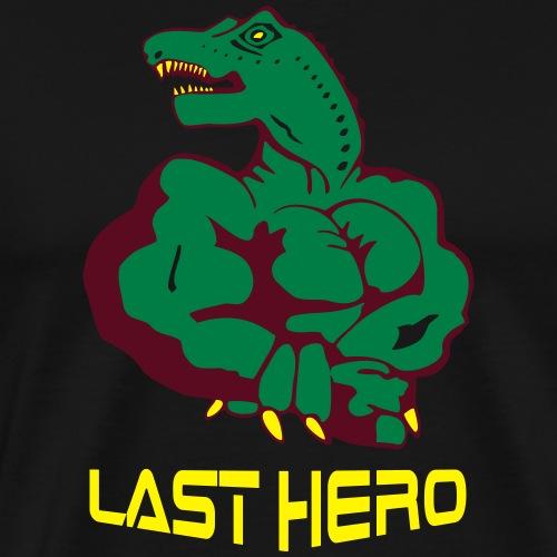 Last Hero Bodybuilding - Männer Premium T-Shirt