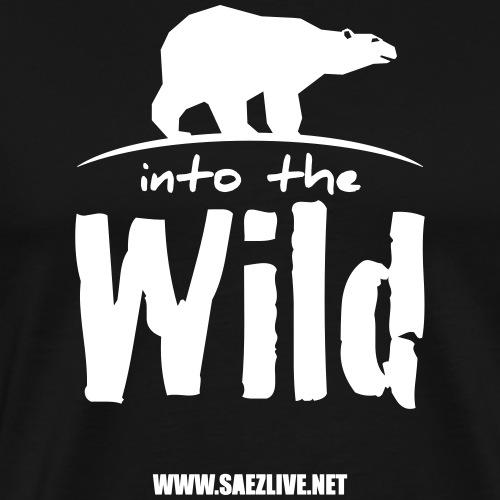 Into the wild (version light) - T-shirt Premium Homme