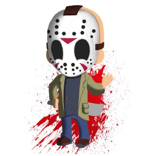 Facemask Killer - Männer Premium T-Shirt