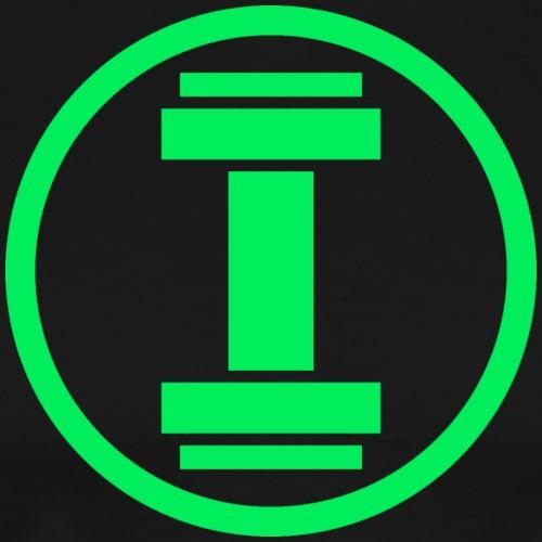 Gym Lantern Neon - Männer Premium T-Shirt