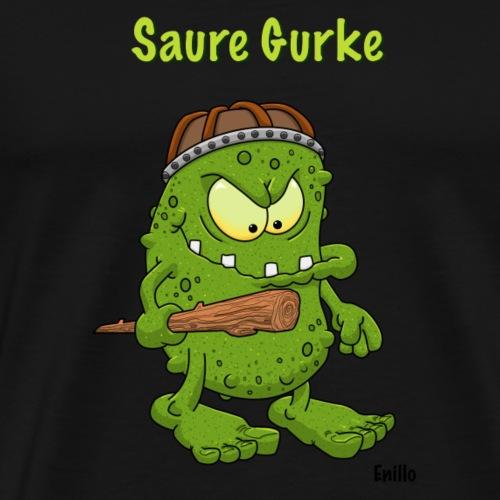 Saure Gurke von Enillo - Männer Premium T-Shirt