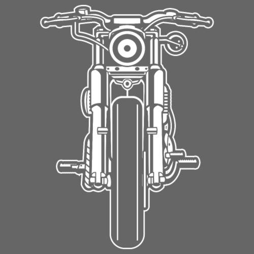 Motorrad Motorcycle 03_weiß - Männer Premium T-Shirt
