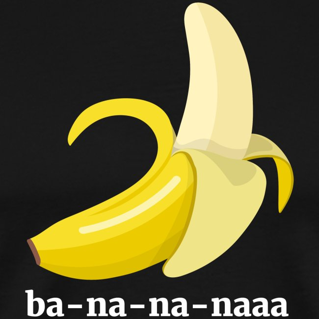Lustiges Bananen Shirt