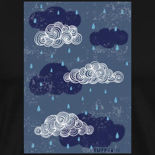 tuffrain cloud - Männer Premium T-Shirt