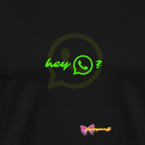 whats up? - Men's Premium T-Shirt