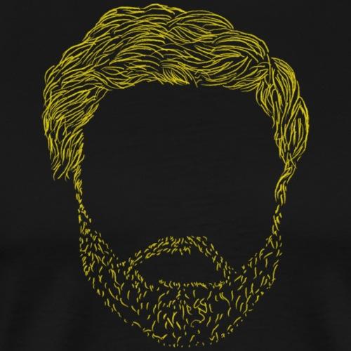 Jörg's Beard - Männer Premium T-Shirt