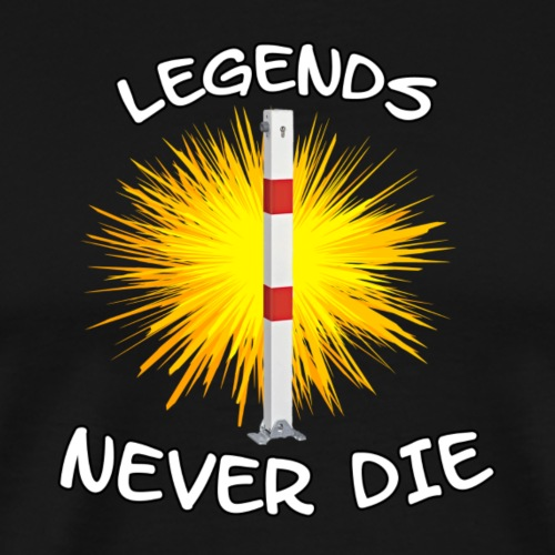 DREAM TEAM - LEGENDS NEVER DIE - Männer Premium T-Shirt