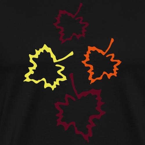 Herbstblätter 2 - Männer Premium T-Shirt