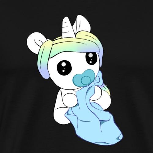 Einhorn-Baby - Männer Premium T-Shirt