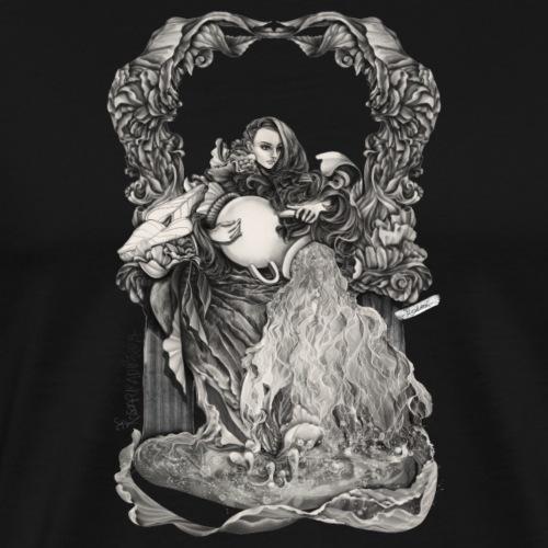 Aquarius Sternzeichen - Männer Premium T-Shirt