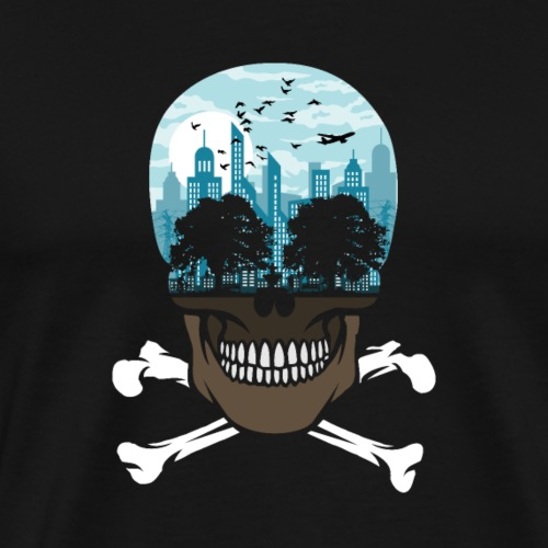Death City tshirt ✅ - Männer Premium T-Shirt