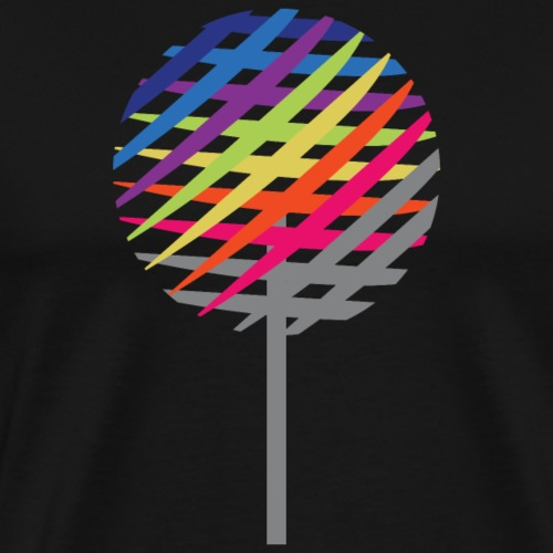 Rainbow Tree - Herre premium T-shirt