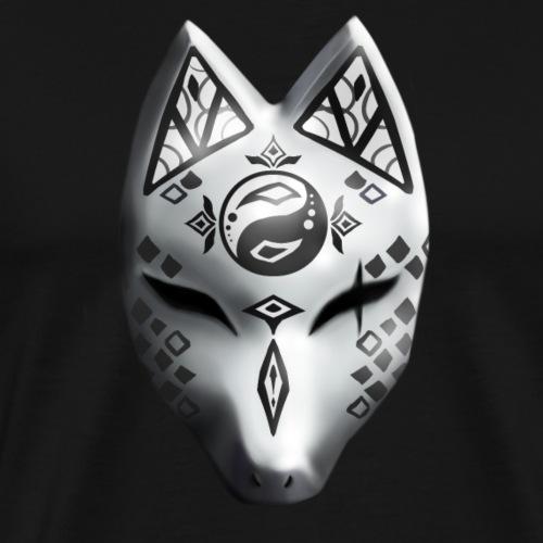 Fox Spirit Mask - Men's Premium T-Shirt
