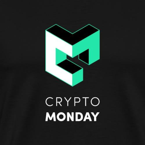 CryptoMonday Black - Männer Premium T-Shirt