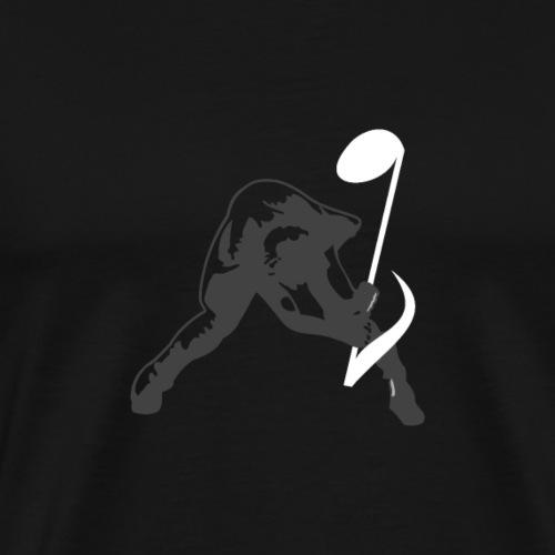 Geräusch brechen - Männer Premium T-Shirt