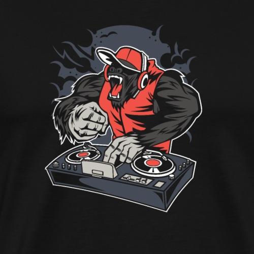 Dj électro - Männer Premium T-Shirt