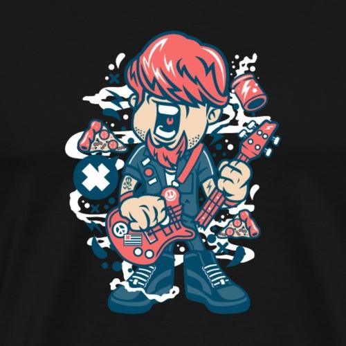 Guitariste - T-shirt Premium Homme