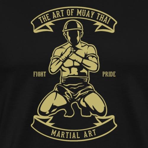 Kunst von Muay Thai - Männer Premium T-Shirt