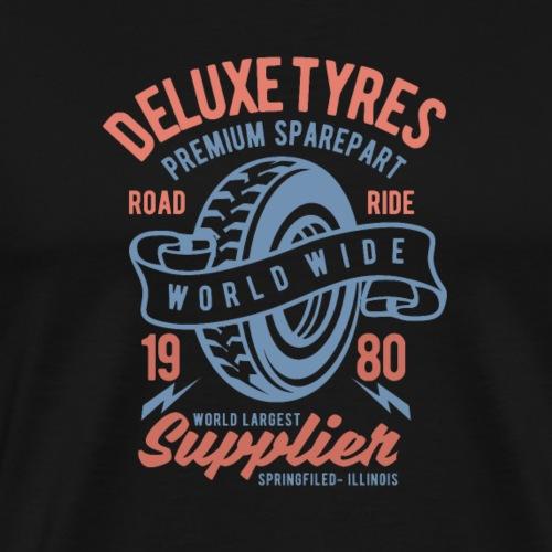 Deluxe-Reifen - Männer Premium T-Shirt