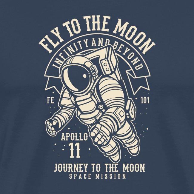 Flieg zum Mond