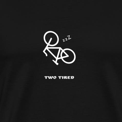TwoTired - Miesten premium t-paita