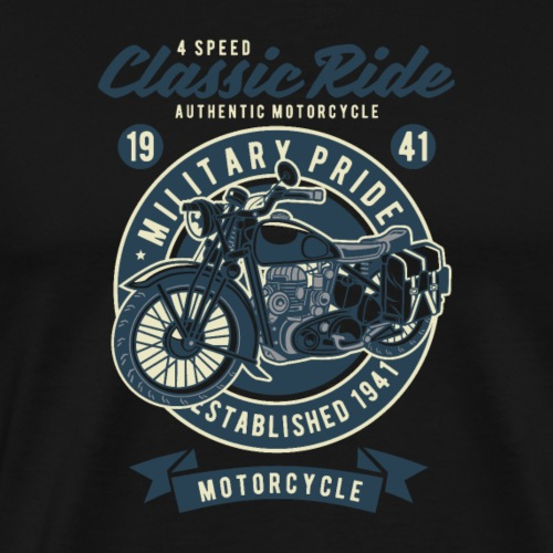 Classic Ride 1 - Männer Premium T-Shirt