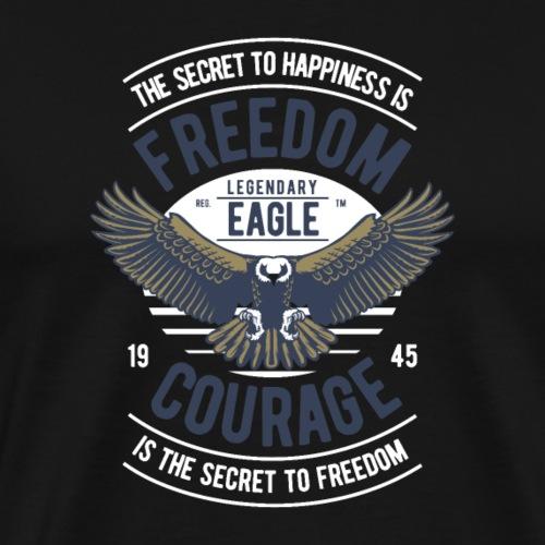 Eagle adler - Männer Premium T-Shirt