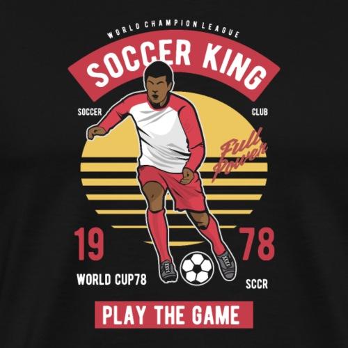 Football King - Männer Premium T-Shirt