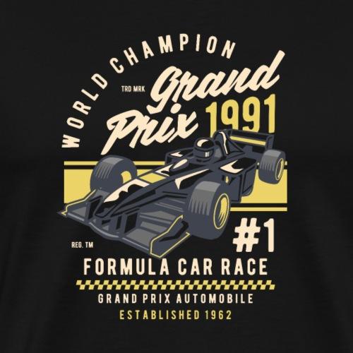 formel eins wagen - Männer Premium T-Shirt