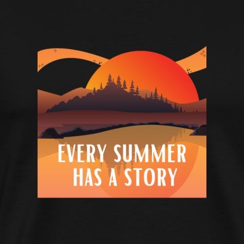 Chaque été a une histoire - T-shirt Premium Homme