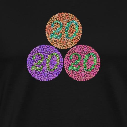 Forest 20 Eye Test - Men's Premium T-Shirt