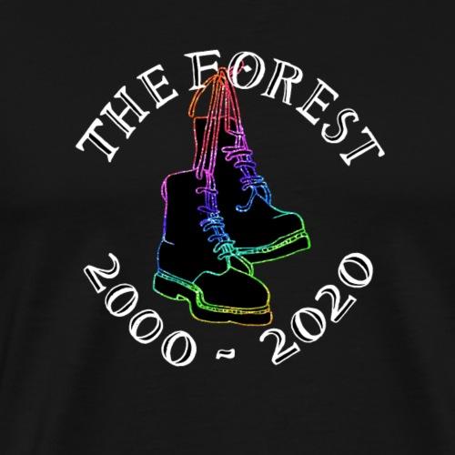 Forest 20 Ewans Boots - Men's Premium T-Shirt