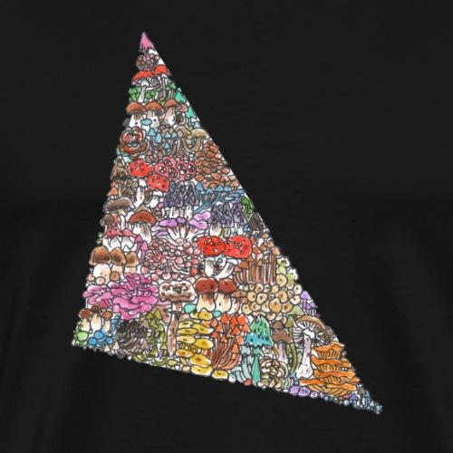 Love Triangle / Pilze - Männer Premium T-Shirt