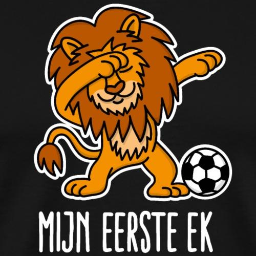Mijn eerste EK Dab dabbende leeuw Nederland Oranje - Mannen Premium T-shirt