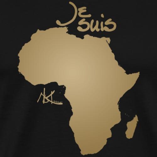 Je suis Afrique / Je suis Aklaaa - T-shirt Premium Homme